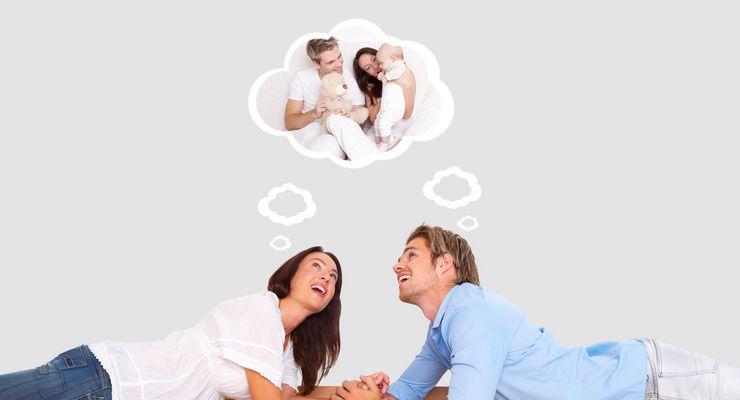 Frau und Mann träumen vom eigenen Baby ml_kuenstl_befruchtung.jpg