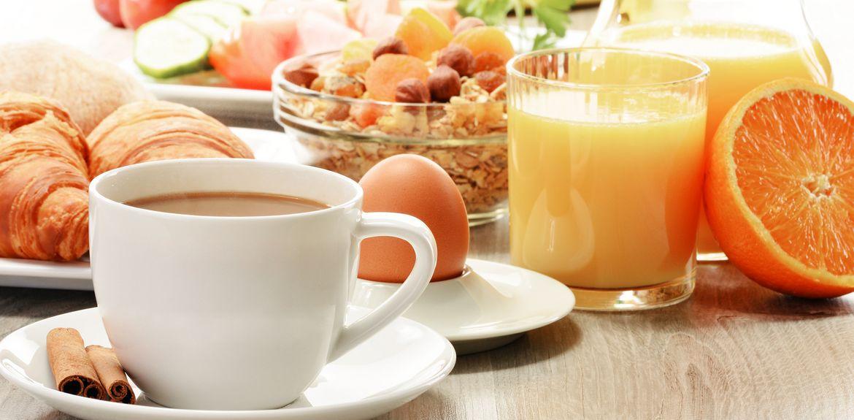 Gesunde Frühstückspause