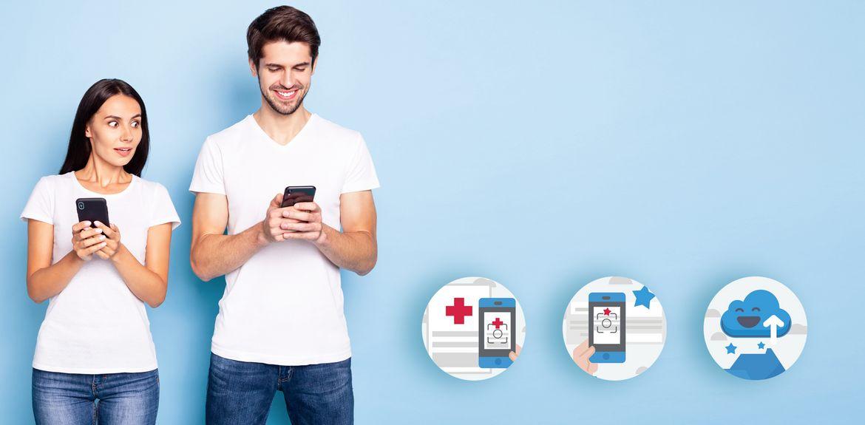 Neuer Service: Die IKK Kunden-App
