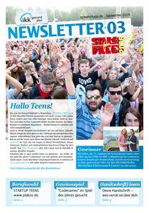 IKK Spleens Newsletter