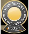 Signet: Datenschutzkomformität bei etracker