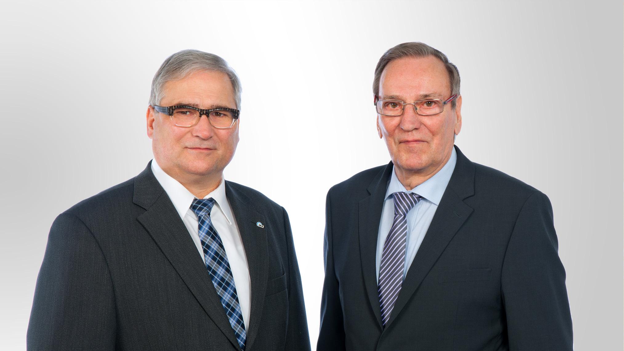 Die Verwaltungsratvorsitzenden der IKK gesund plus